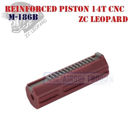 Reinforced Piston 14 Teeth CNC ZC Leopard (M-186B)