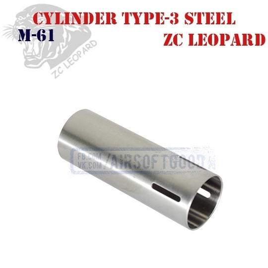 Cylinder Type-3 Stainless Steel ZC Leopard (M-61)