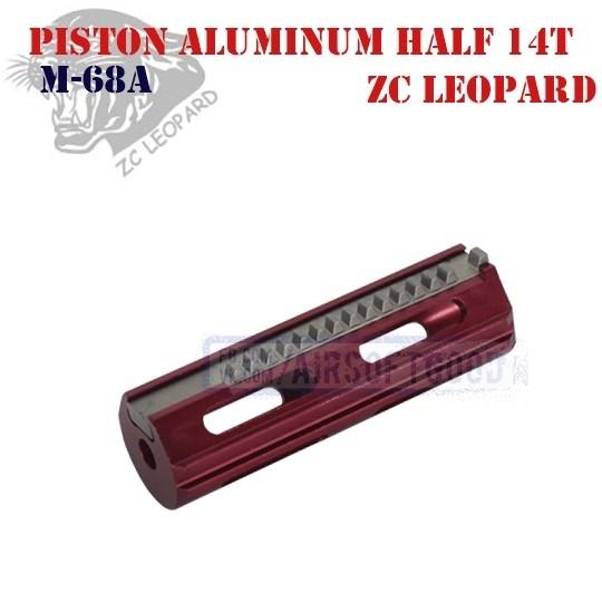 Piston Aluminum Half 14 Teeth ZC Leopard (M-68A)