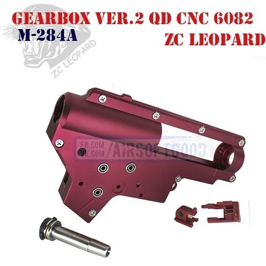 Gearbox Shell Set Version 2 QD CNC Aluminum 6082 ZC Leopard (M-284A)