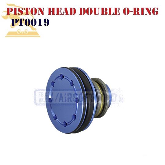 Piston Head Aluminum Double O-ring CNC Super Shooter голова поршня SHS PT0019
