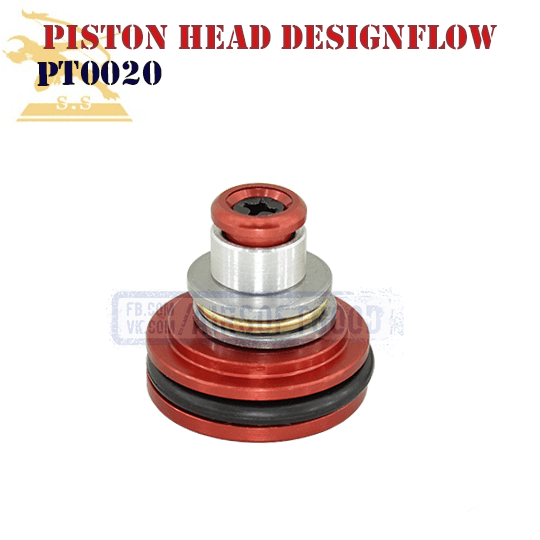 Piston Head Type-O CNC Super Shooter (PT0020)