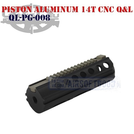 Piston Aluminum 14 Teeth CNC Q&L (QL-PG-008)