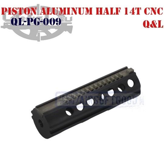 Piston Aluminum Half 14 Teeth CNC Q&L (QL-PG-009)