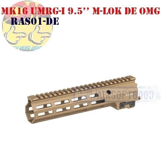 """MK16 UMRG-I 9.5"""" M-LOK DE OMG (RAS01-DE)"""
