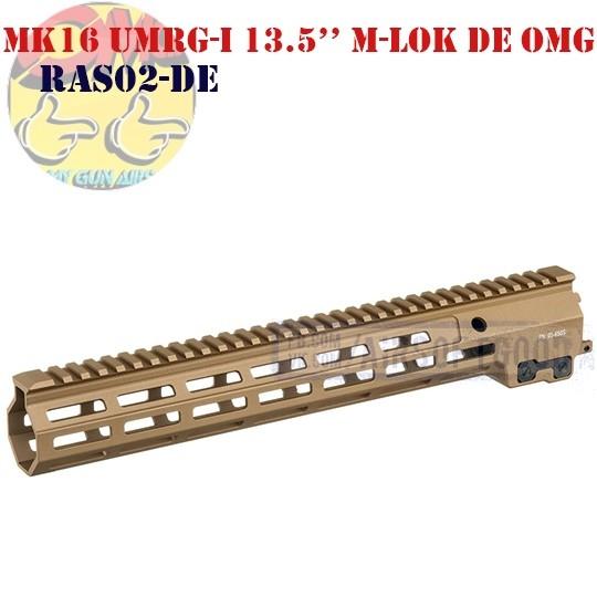 """MK16 UMRG-I 13.5"""" M-LOK DE OMG (RAS02-DE)"""