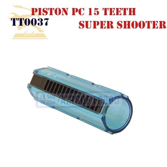 Piston Policarbonate 15 Teeth Super Shooter (TT0037)