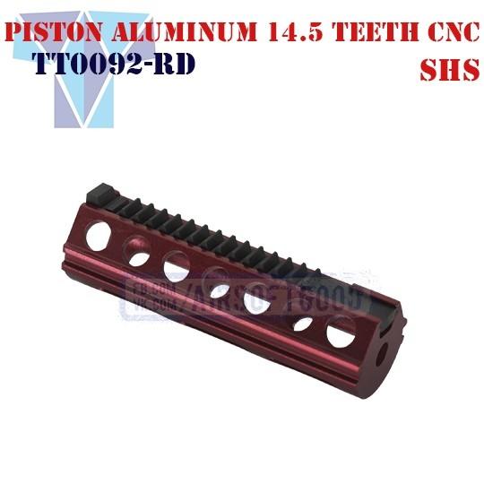Piston Aluminum 14.5 Teeth CNC SHS (TT0092-RD)