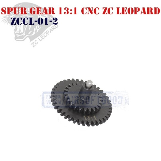 Spur Gear High Speed 13:1 CNC ZC Leopard (ZCCL-01-2)