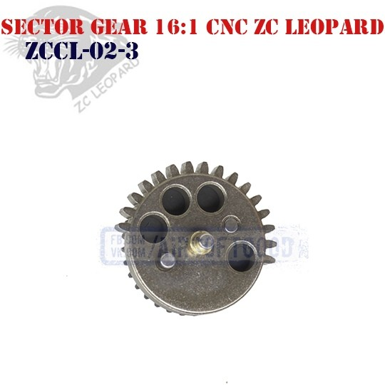 Sector Gear Speed 16:1 CNC ZC Leopard (ZCCL-02-3)