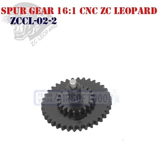 Spur Gear Speed 16:1 CNC ZC Leopard (ZCCL-02-2)