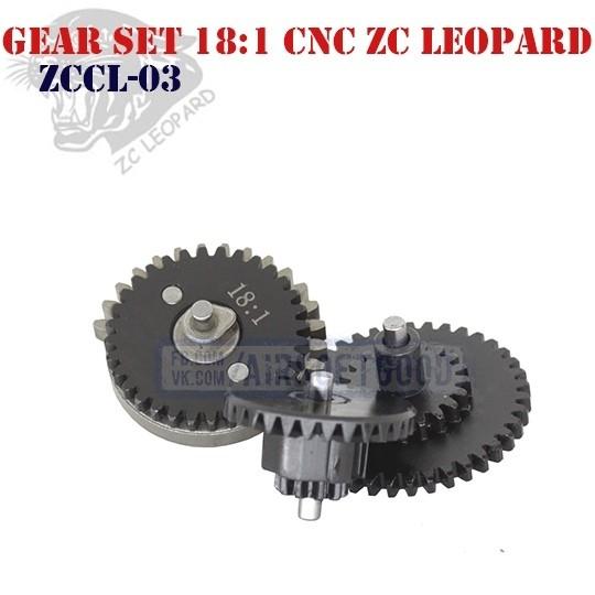 Gear Set Standard 18:1 CNC ZC Leopard (ZCCL-03)