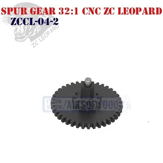 Spur Gear Infinite Torque 32:1 CNC ZC Leopard (ZCCL-04-2)