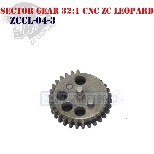 Sector Gear Infinite Torque 32:1 CNC ZC Leopard (ZCCL-04-3)