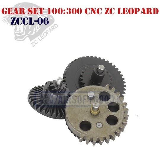 Gear Set Ultra Torque 100:300 CNC ZC Leopard (ZCCL-06)
