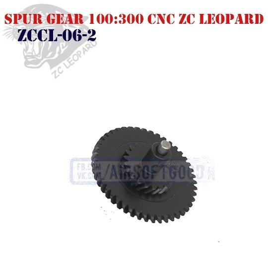 Spur Gear Ultra Torque 100:300 CNC ZC Leopard (ZCCL-06-2)
