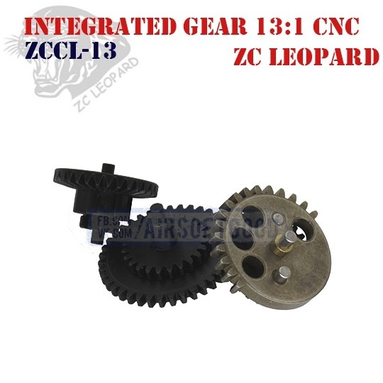 Integrated Gear Set High Speed 13:1 CNC ZC Leopard (ZCCL-13)