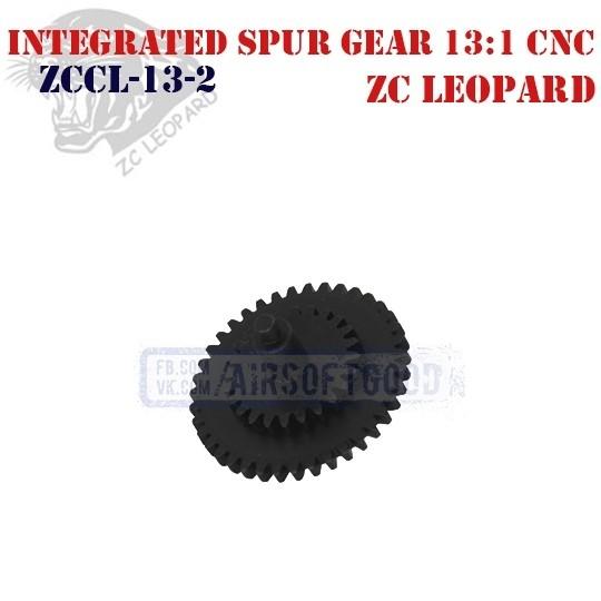 Integrated Spur Gear High Speed 13:1 CNC ZC Leopard (ZCCL-13-2)