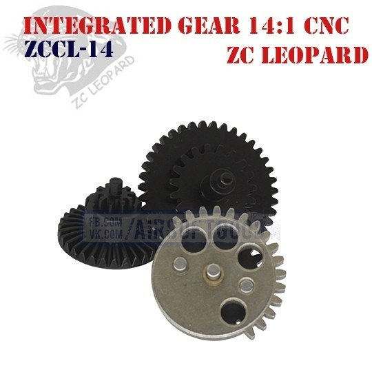 Integrated Gear Set High Speed 14:1 CNC ZC Leopard (ZCCL-14)