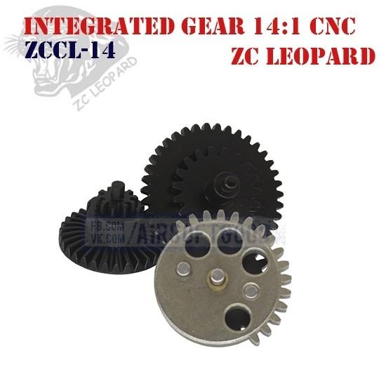 Integrated Gear Set High Speed 14:1 CNC ZC Leopard (ZCCL-14)