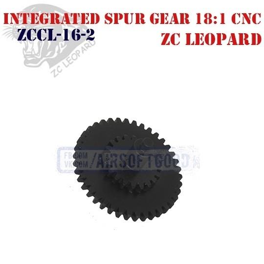 Integrated Spur Gear Standart 18:1 CNC ZC Leopard (ZCCL-16-2)