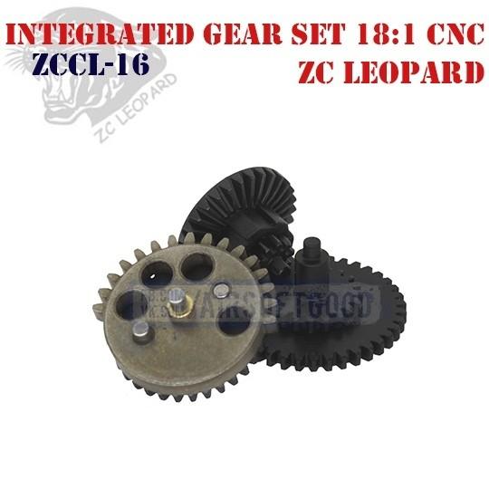 Integrated Gear Set 18:1 CNC ZC Leopard (ZCCL-16)