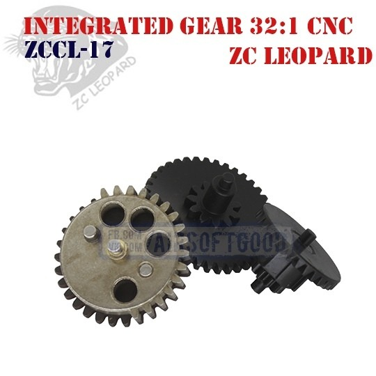 Integrated Gear Set Infinite Torque 32:1 CNC ZC Leopard (ZCCL-17)