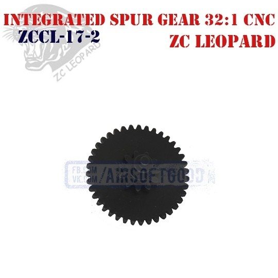 Integrated Spur Gear Infinite Torque 32:1 CNC ZC Leopard (ZCCL-17-2)