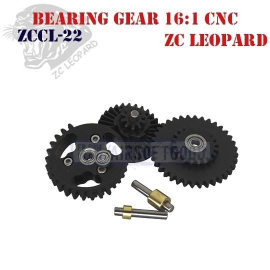 Bearing Gear Set Speed 16:1 CNC ZC Leopard (ZCCL-22)