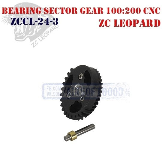 Bearing Spur Gear Torque 100:200 CNC ZC Leopard (ZCCL-24-3)