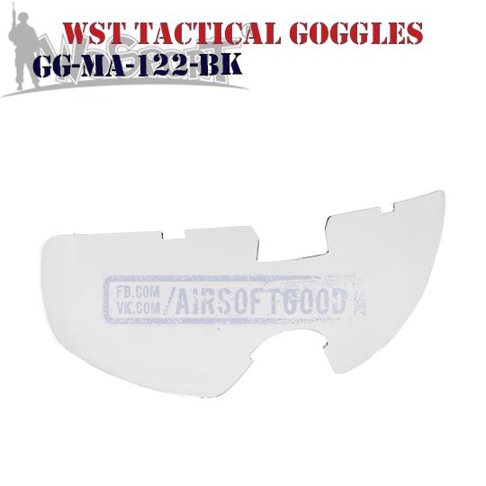 WST Tactical Anti-Fog Goggles WoSporT (GG-MA-122-BK)