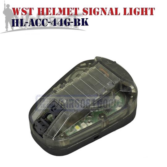 WST Helmet Signal Green Light WoSporT (HL-ACC-44G-BK)