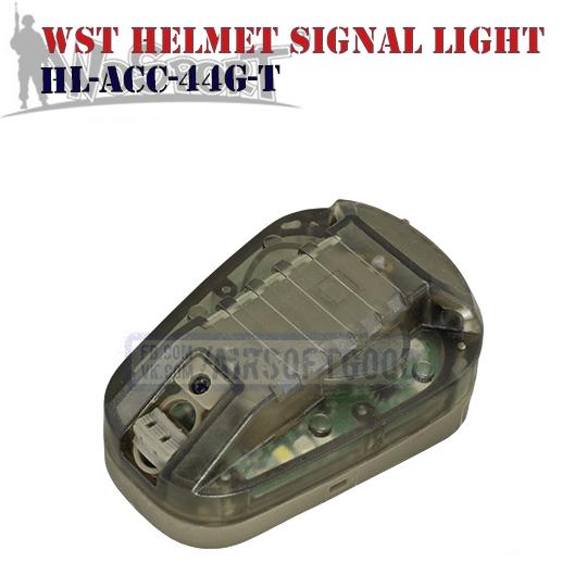 WST Helmet Signal Green Light TAN WoSporT (HL-ACC-44G-T)