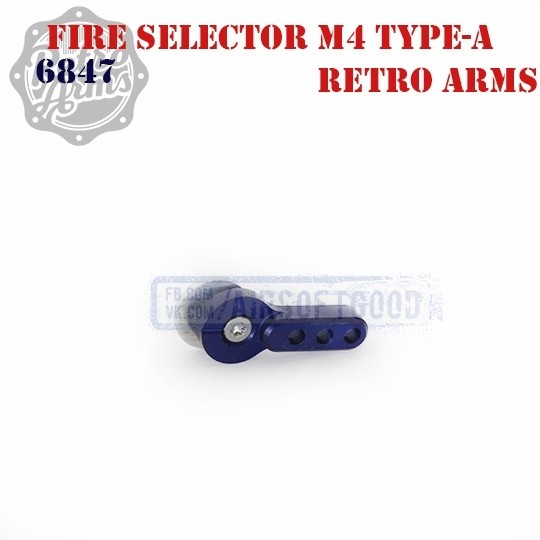 Переводчик огня М4 Type-A Blue Retro Arms (6847)