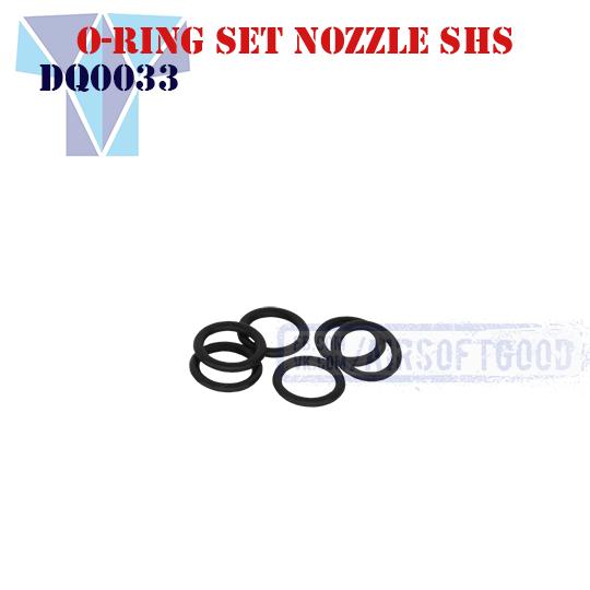 O-Ring Set Nozzle SHS (DQ0033)
