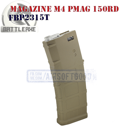 Magazine PMAG GEN M3 M4 150rd TAN BATTLEAXE (FBP2315T)