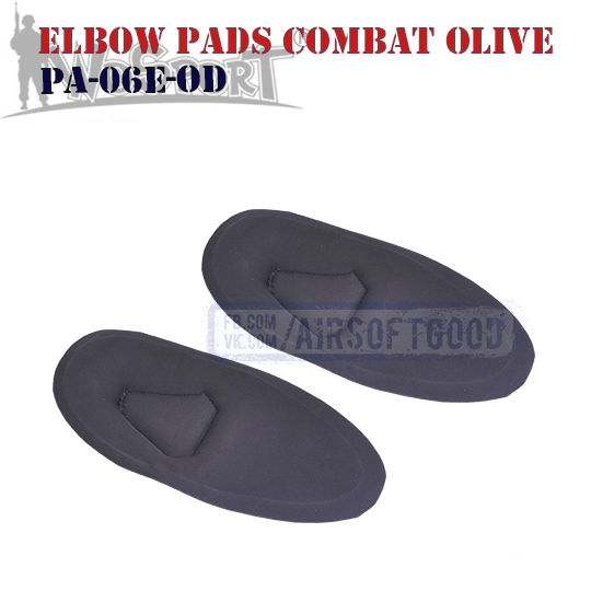 Elbow COMBAT G2 Pads Olive WoSporT (PA-06E-OD)