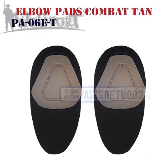 Elbow COMBAT G2 Pads TAN WoSporT налокотник PA-06-T