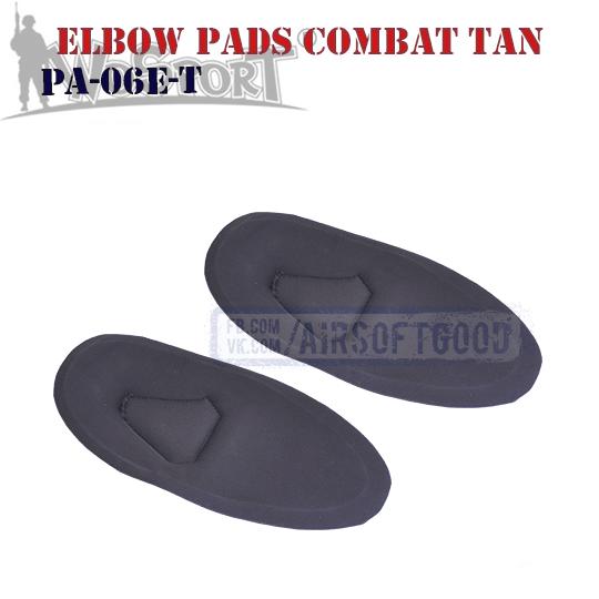 Elbow COMBAT G2 Pads TAN WoSporT PA-06-T