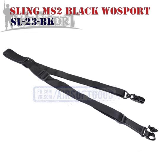 Sling MS2 MAGPUL Black WoSporT (SL-23-BK)