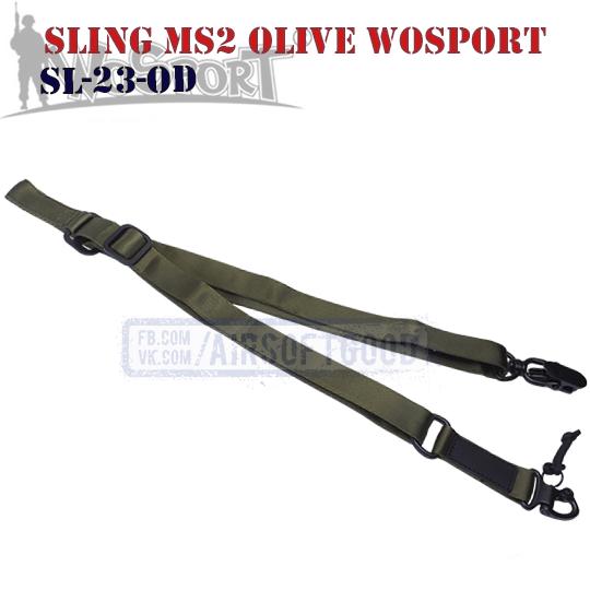 Sling MS2 MAGPUL Olive WoSporT SL-23-OD