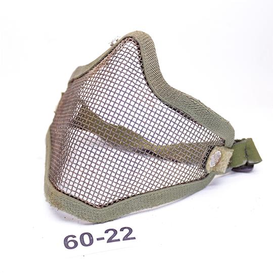 Защитная маска Steel Mesh Mask Olive