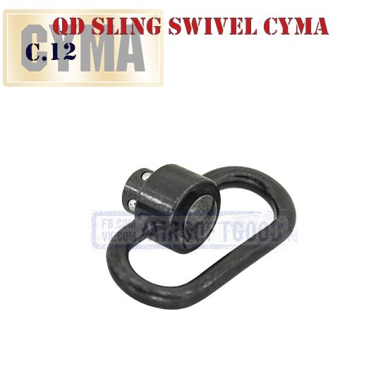 Push Button QD Sling Swivel CYMA быстросъемная антабка C.12