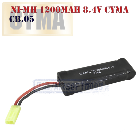 Battery Ni-Mh 1200mAh 8.4V CYMA аккумулятор