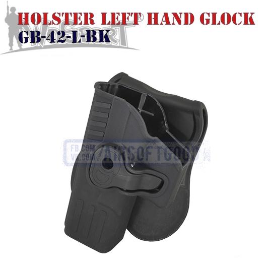 Holster Left Hand Quick Pull GLOCK Black WoSporT кобура полицейская GB-42-L