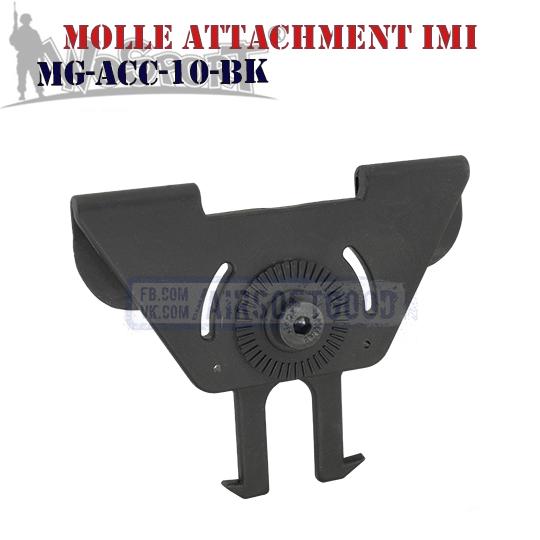MOLLE Attachment IMI Black WoSporT Крепления молле MG-ACC-10-BK