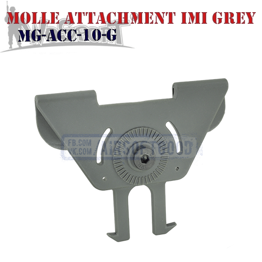 MOLLE Attachment IMI Grey WoSporT MG-ACC-10-G