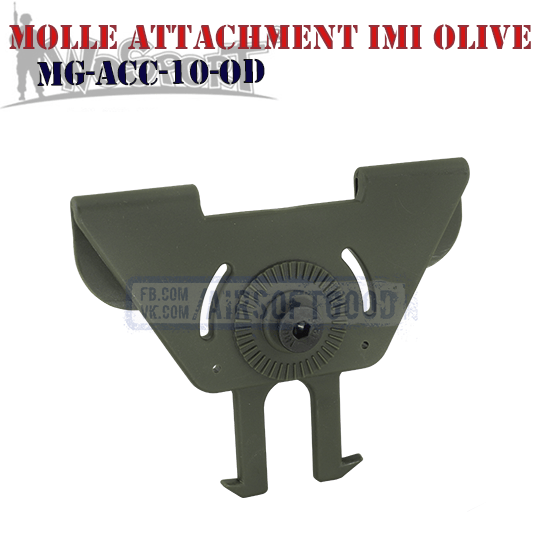 MOLLE Attachment IMI Olive WoSporT тактическое снаряжение MG-ACC-10-OD