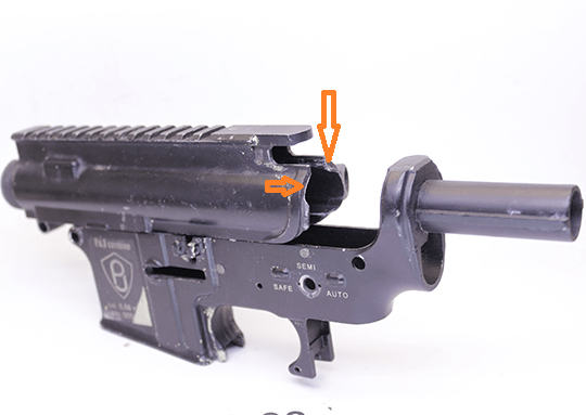 Ствольная коробка M4 Receiver P&J A&K