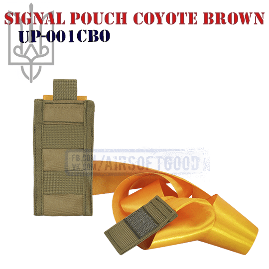 Signal Pouch Coyote Brown UP-001CBO